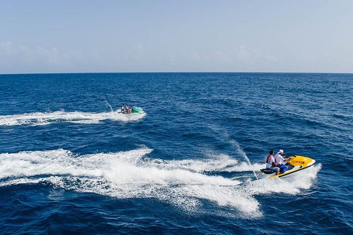 Watercraft multiple riders