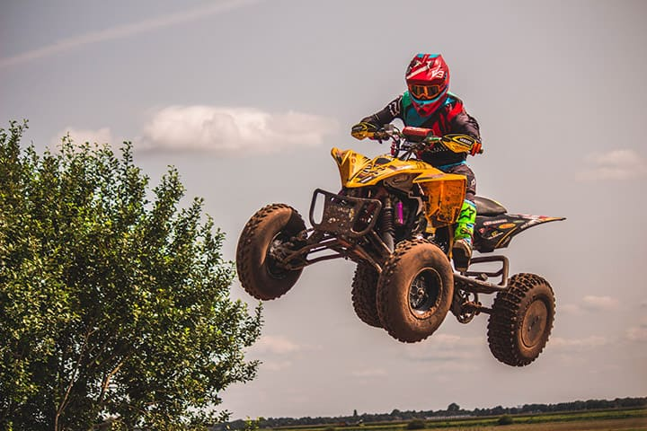 ATV high jump