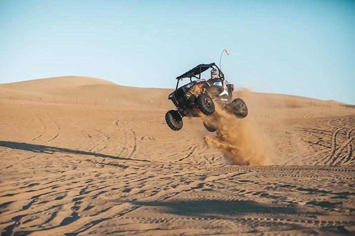 ATV dune racing